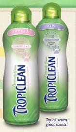 Tropiclean Naturally Green Shampoos