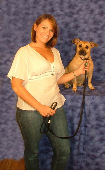 kelley and Dingo pet biggest loser contest